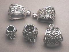Wholesale jewelry findings timewell sterling silver bails mozeypictures Images