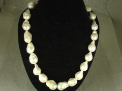Fresh Water White Baroque Pearl