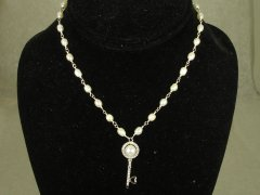 Fresh Water Pearl Link Necklace