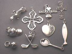 Wholesale Sterling Silver Charms Chains Timewell